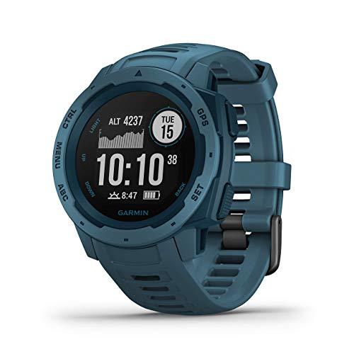 Garmin Instinct - Reloj resistente con GPS, Azul