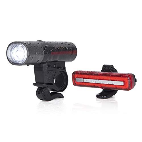 Cycleafer® Luz Bicicleta Recargable USB,...