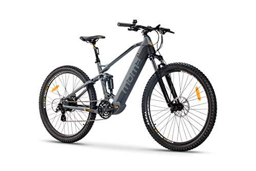 Moma Bikes Bicicleta Eléctrica E-MTB 29' Full...