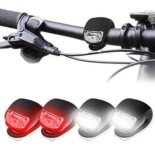 KOROSTRO LED Bicicleta Luz Sets, Luces Bicicleta...