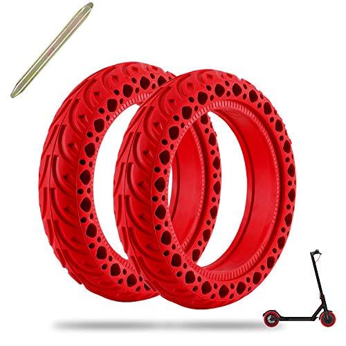 FYTENG Neumáticos sólidos compatibles con el...