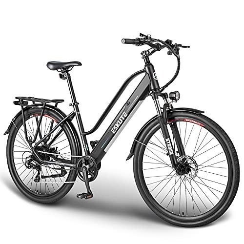 ESKUTE Bicicleta Eléctrica Wayfarer 28'' E-Bike...