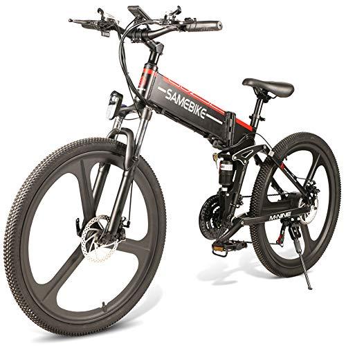 JsJr-K-In Bicicleta Eléctrica Plegable Plegable...