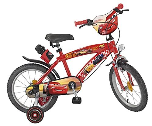TOIMS Cars - Bicicleta Infantil para niño, Color...