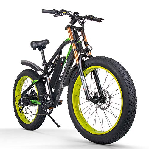 cysum Bicicletas eléctricas para Hombres, Fat...