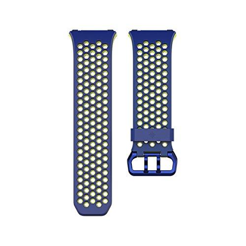 Fitbit Ionic Correa Sport, Unisex Adulto, Blue,...