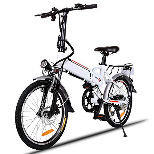 Speedrid Bicicleta eléctrica Plegable Adultos,...