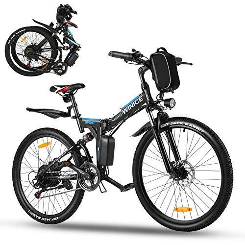 Vivi Bicicleta Eléctrica Plegable,Bicicleta...