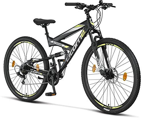 Licorne Bike Bicicleta de montaña Strong 2D, para...