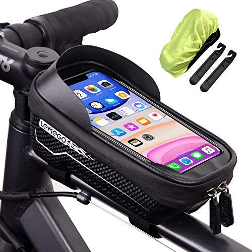 LEMEGO Bolsas de Bicicleta, Bolsa Impermeable para...