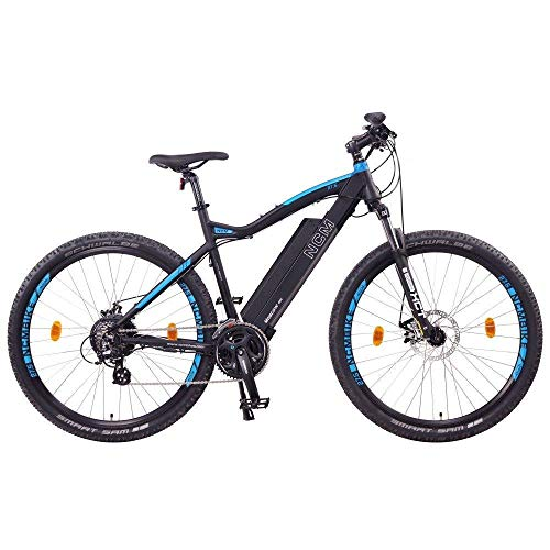 NCM Moscow Bicicleta eléctrica de montaña, 250W,...