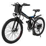 AMDirect Bicicleta de Montaña Eléctrica Bici...