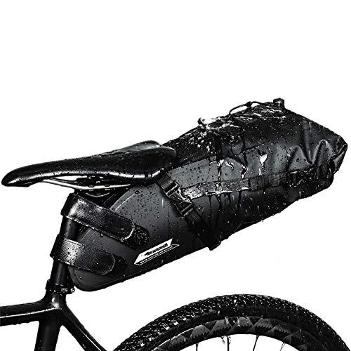 Selighting Impermeable Bicicleta Alforja Asiento...