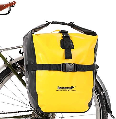 Selighting Bolsa Alforja Trasera para Bicicleta...