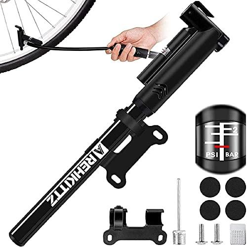 AMZOON Bomba Bicicletas Inflador Bici Adicional...