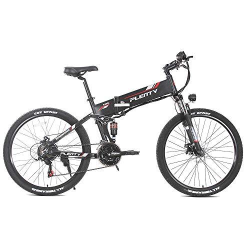 Bicicleta Eléctrica Plegable de 26 Pulgadas 48V...