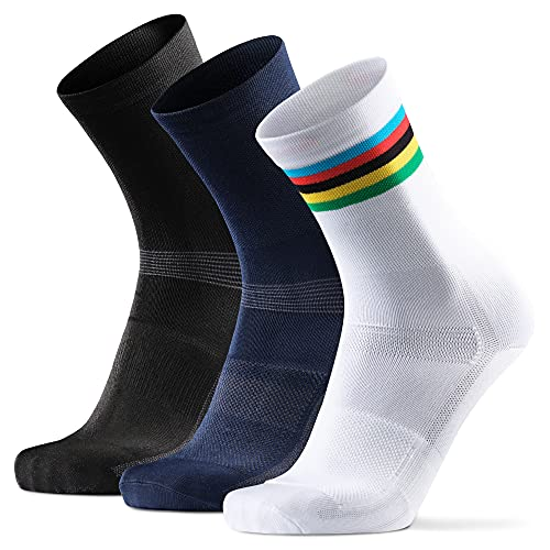 DANISH ENDURANCE Calcetines de Ciclismo para...