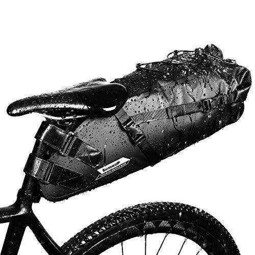 GARDOM Bolsa de Sillín Bici 10L Bolsa Bicicleta...