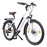 NCM Milano Bicicleta eléctrica de Trekking, 250W,...