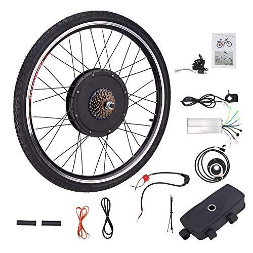 HIRAM Kit de Conversión de Bicicleta Eléctrica...