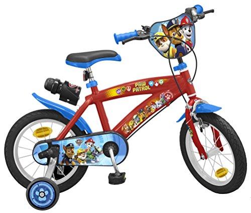 TOIMS Paw Patrol Bicicleta de Niño, tamaño 14...