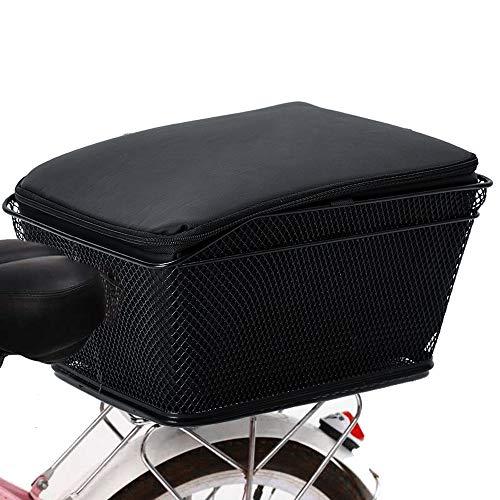 Lixada Cesta para Bicicleta Trasera Gran Capacidad...