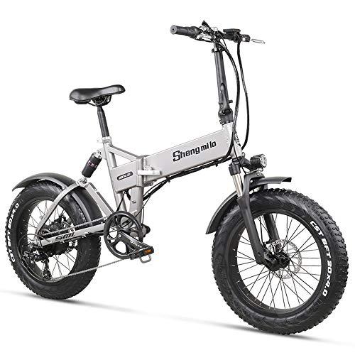 MX21 500W 20' Bicicleta eléctrica Plegable 4.0...