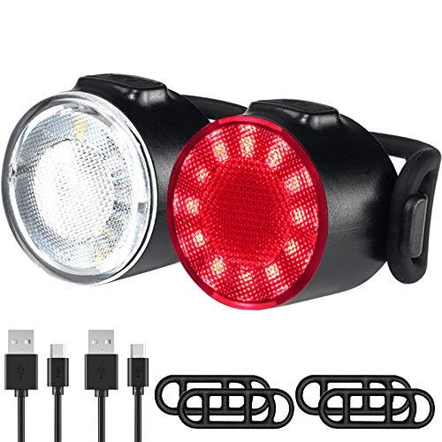 Luces Bicicleta, Impermeable Luz LED Bicicleta, 6...