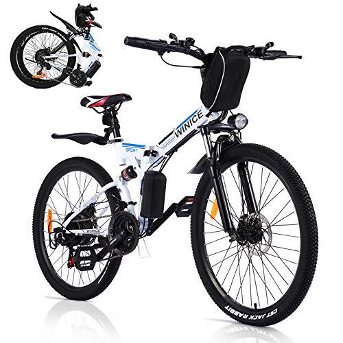 VIVI Bicicleta Eléctrica Plegable, para Bicicleta...
