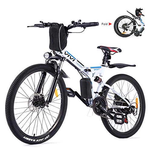Vivi Bicicleta Eléctrica Plegable, 26' Bicicleta...