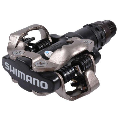 Pedales de MTB, Shimano, M520, SPD, negro