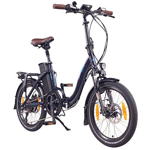 NCM Paris (+) Bicicleta eléctrica Plegable, 250W,...
