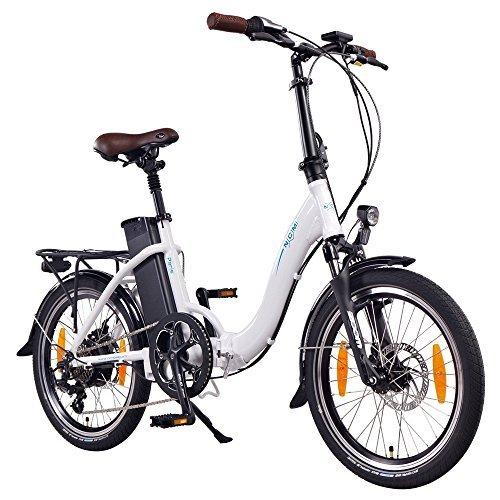 NCM Paris Bicicleta eléctrica Plegable, 250W,...