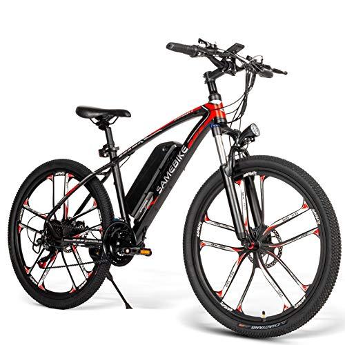 SAMEBIKE Bicicleta Eléctrica de Montaña 26...
