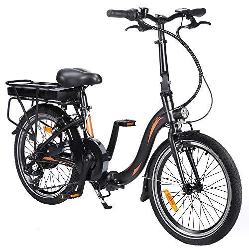 Bicicleta Eléctrica Plegable de 20 Pulgadas,...