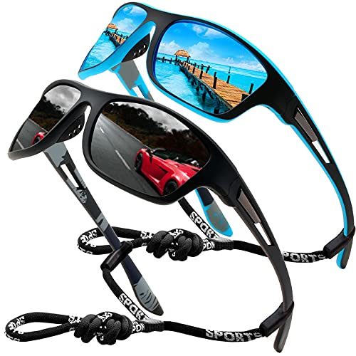 Perfectmiaoxuan Gafas de sol polarizadas para...