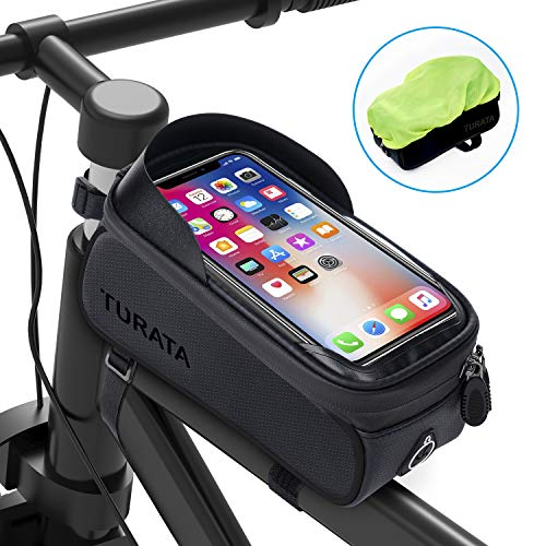 TURATA Bolsas de Bicicleta, Bolsa Impermeable para...