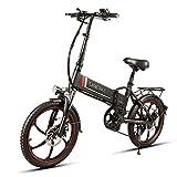 Lixada 20 Pulgadas Plegable Bicicleta Eléctrica...