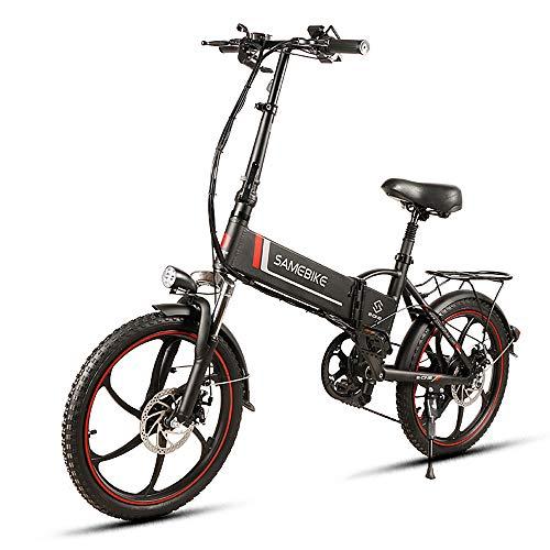 Lixada Bicicleta Eléctrica Plegable de 20...