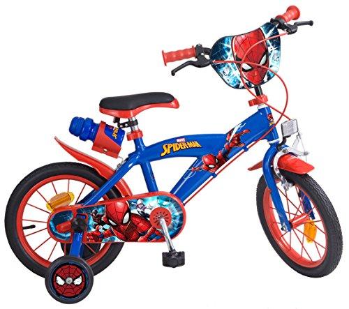Toims 874 Spiderman - Bicicleta para niños,...
