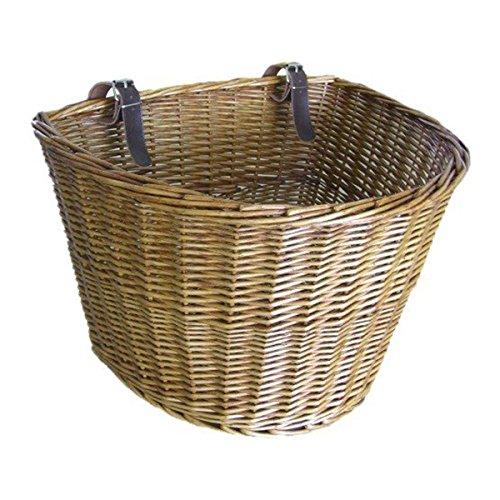 TaoToa Retro, cesta delantera de mimbre para...