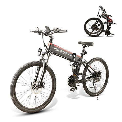SAMEBIKE Bicicletas eléctricas con neumáticos de...