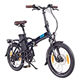 NCM London (+) Bicicleta eléctrica Plegable,...