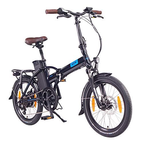 NCM London (+) Bicicleta eléctrica Plegable, 250W, Batería 36V 15Ah/19Ah 540/Ah684Wh, 20'