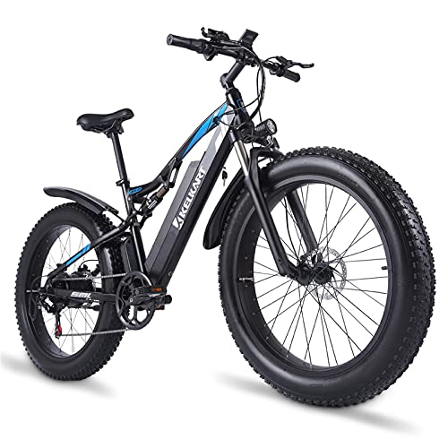 KELKART Bicicleta Eléctrica 48V 1000W para...