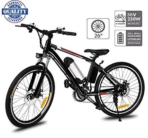 Hiriyt 26' Bicicleta eléctrica de montaña, 250W,...