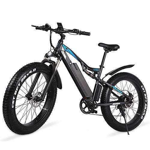 GUNAI Bicicleta de Montaña Eléctrica 1000w,...