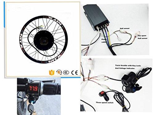 Nbpower 48V 88V 66cm 725000W kit de...