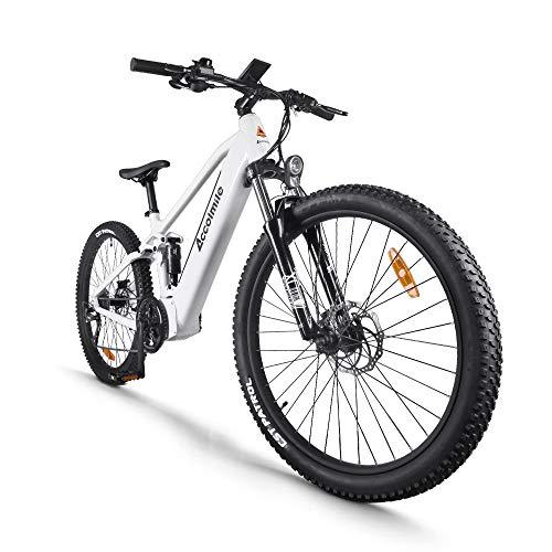 Bicicleta de montaña eléctrica de 27,5 Pulgadas,...