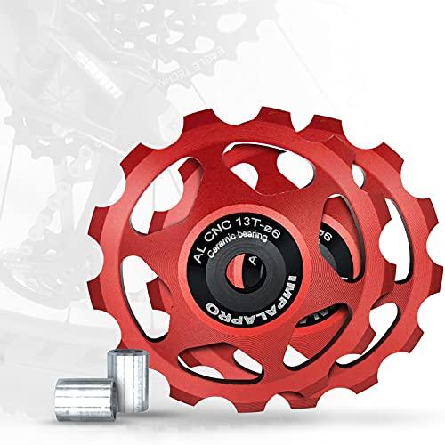 IMPALAPRO Bike Set 2 Roldanas Ceramicas 13T...